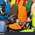stock-photo-group-of-multi-colored-office-chairs-114163909